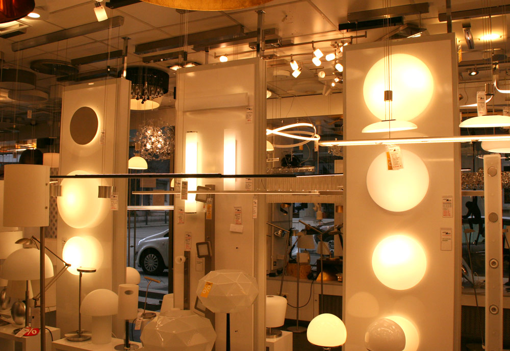 Lichteck Mannheim Leuchten Showroom