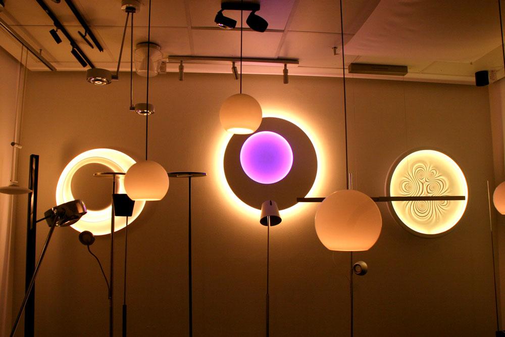 Lichteck Wiesbaden Leuchten Showroom